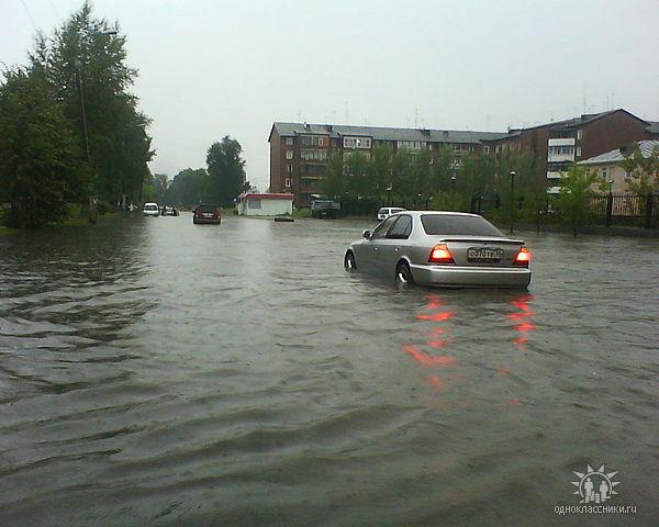 Супер дождь 21 июля 2009)))
