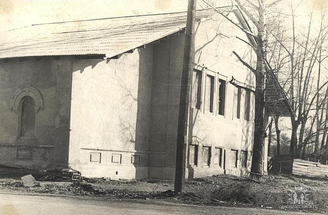 Дом пионеров, ул.Просвещения, 14. Конец 1960-х гг.