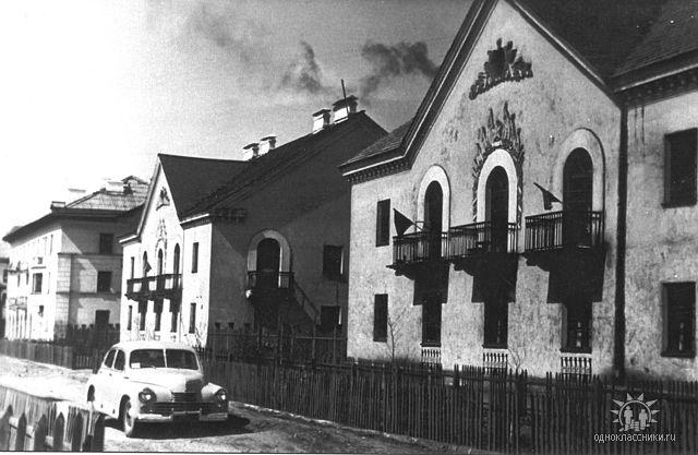 начало 1960-х гг. Ул. Украинская