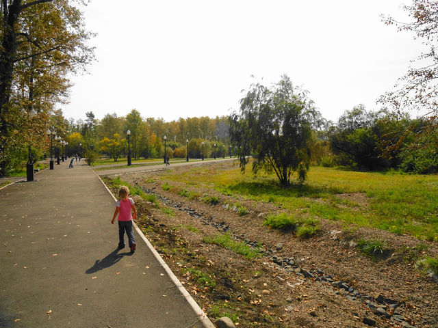 Наш парк после ремонта!