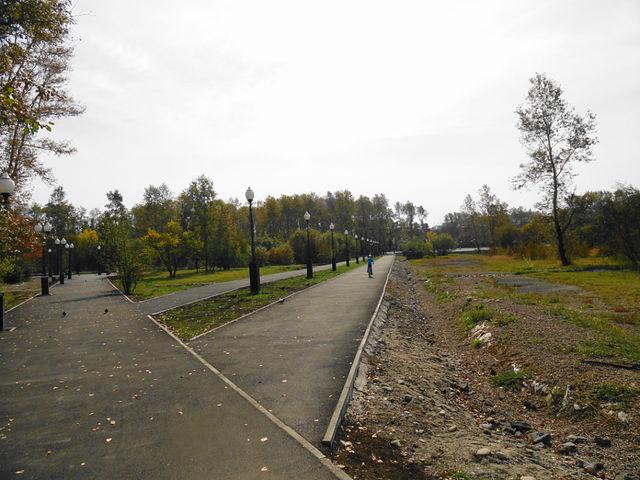 Вот такой наш парк теперь