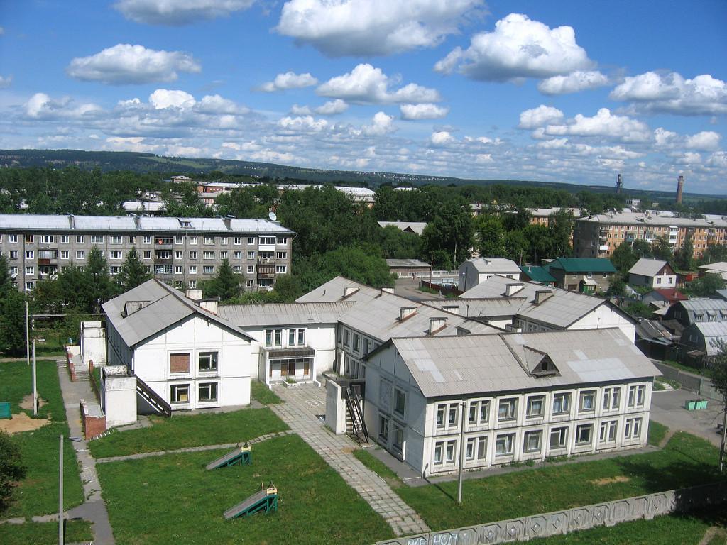 Тёплый летний день над Иркутском. 12 июля 2008г.