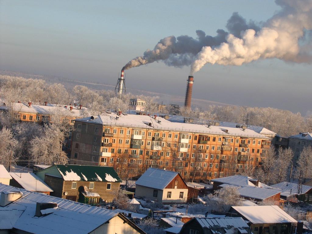 Во втором зимние каникулы, а домах стоит тепло! Спасибо энергозаводу! 2-ое января 2009г.