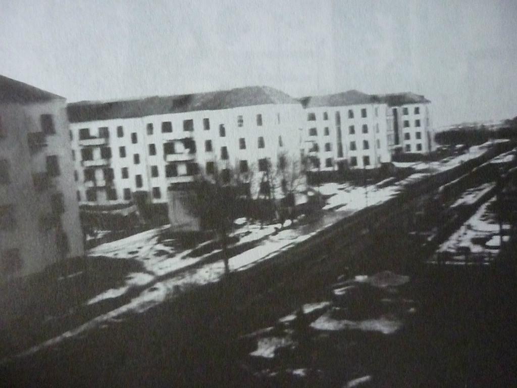 1938г.Каменные дома на Косом участке.