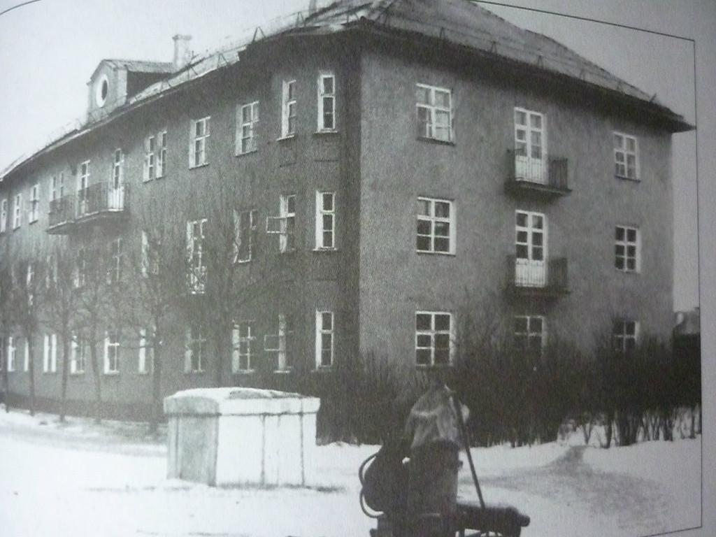 Здание отдела подготовки кадров