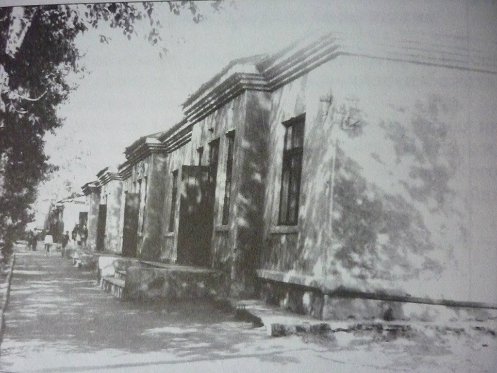 Характерные строения заводского поселка