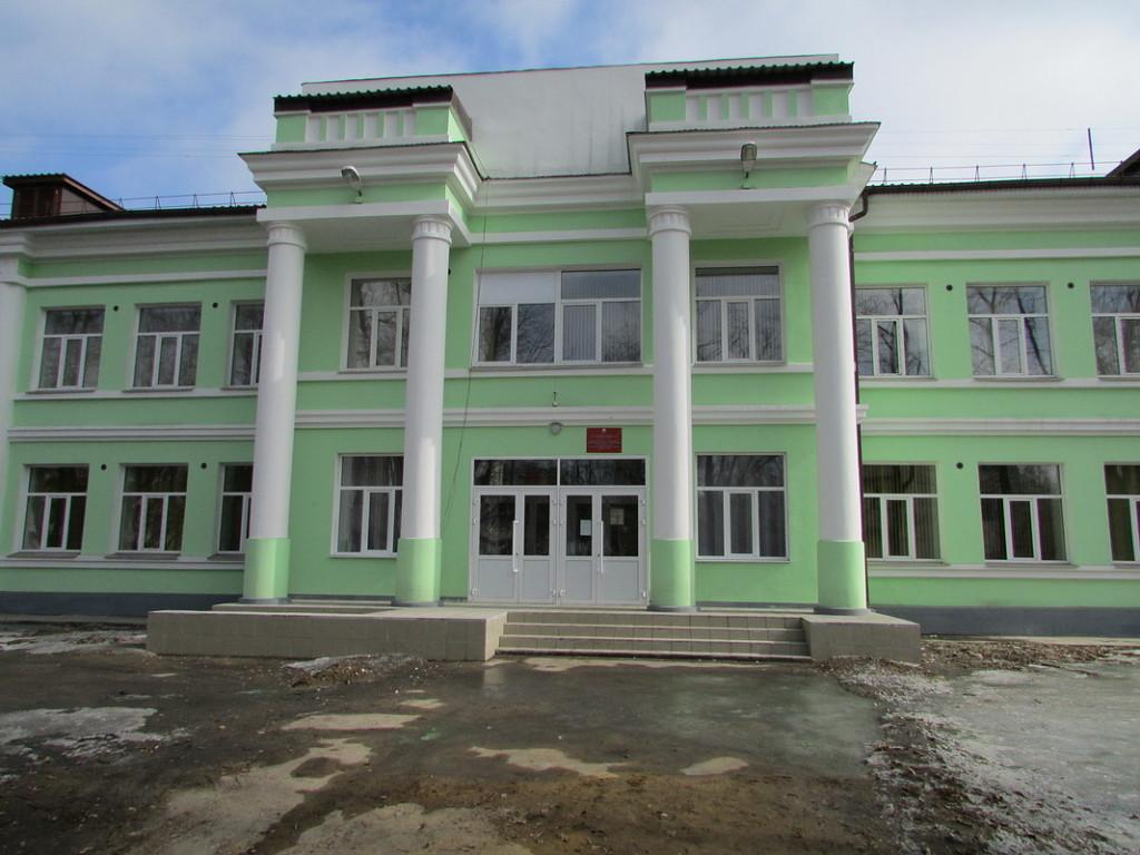 Школа 43 после реконструкции