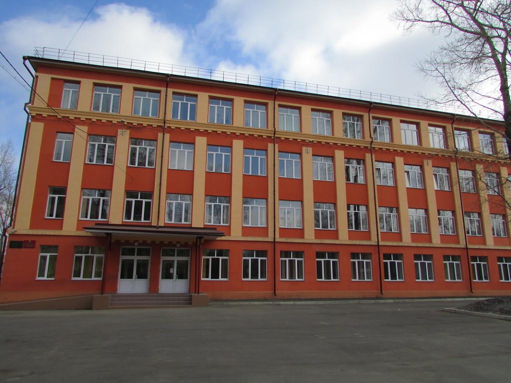 Школа 34 после реконструкции