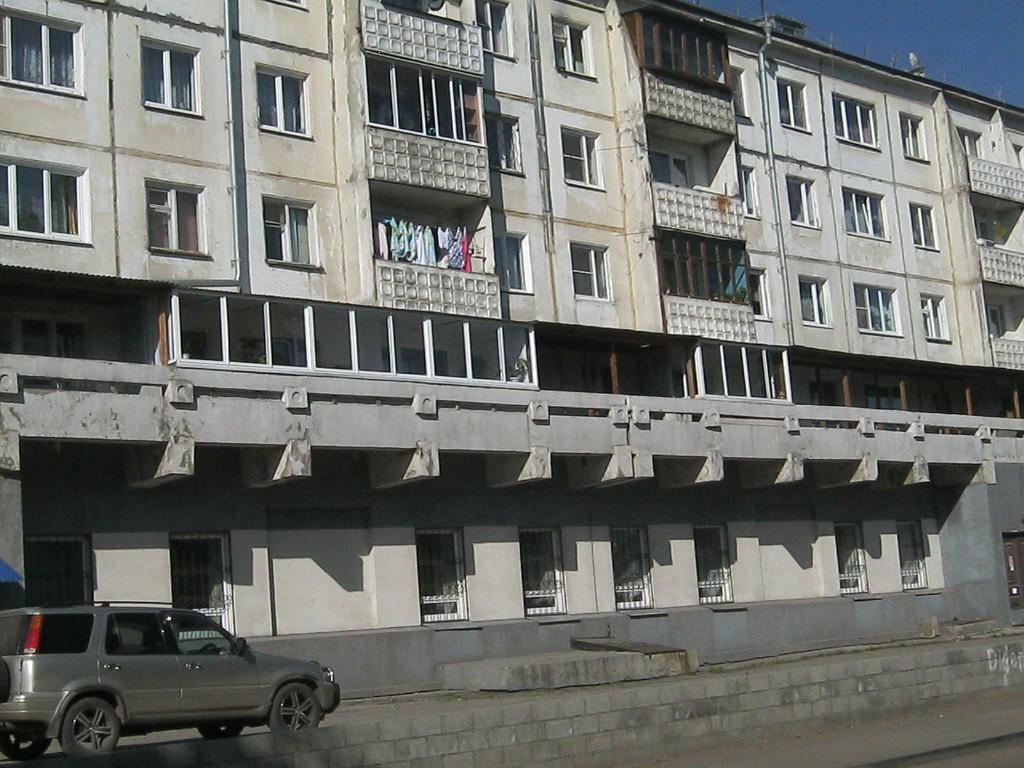 Ул. Волгоградская. Здесь находился магазин