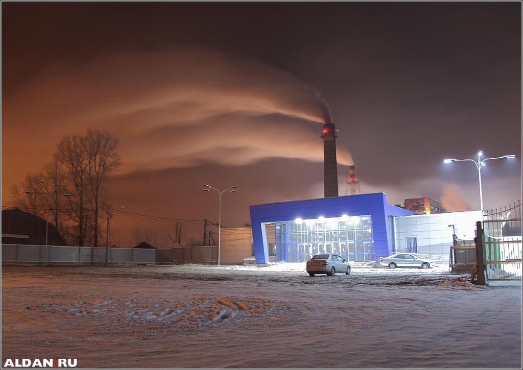 Новая проходная филиала завода. Январь`14