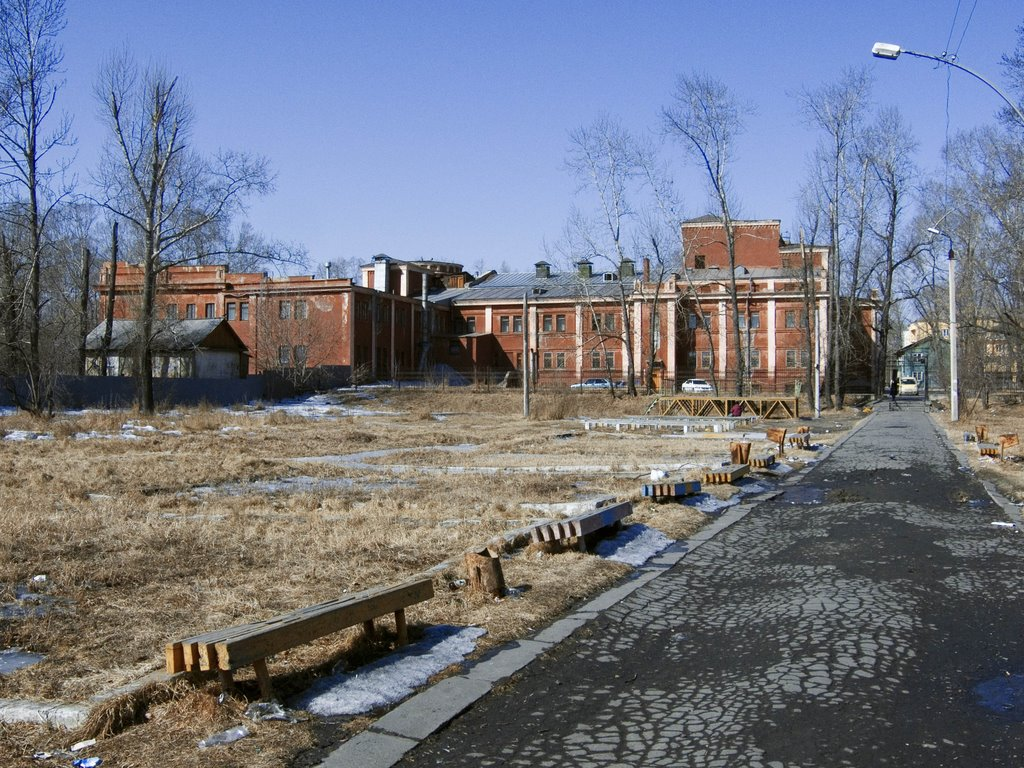 Городской парк (ранее Комсомольский)