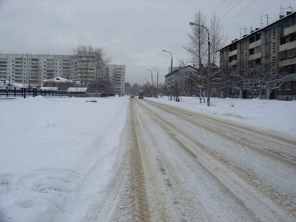 Иркутск 2 зимой