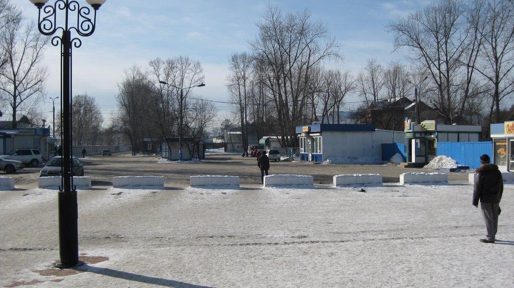 Привокзальная площадь ст. Иркутск-Сорт.