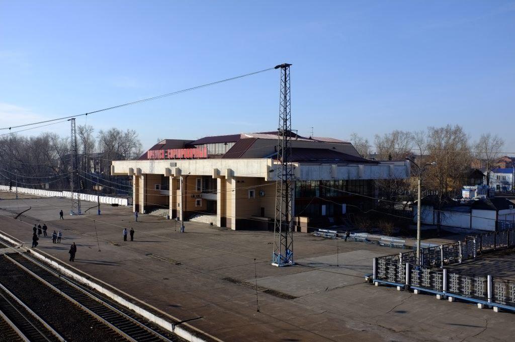 Иркутск станция Иркутск сортировочный. Апрель 2011