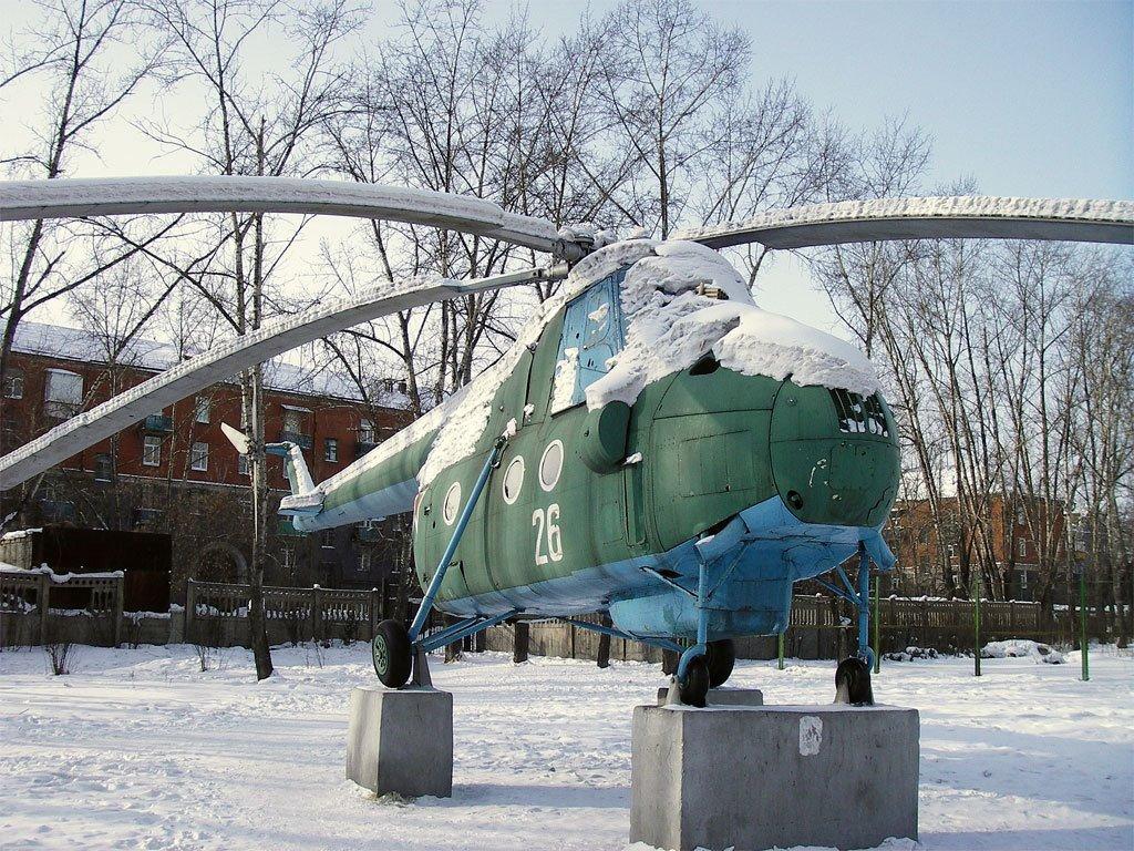 Mil Mi-4 Hound-A @ Komsomolsky Park.