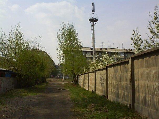 Тропа рядом с детским садиком №122
