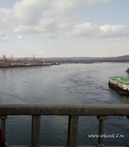 вид с иркутского моста