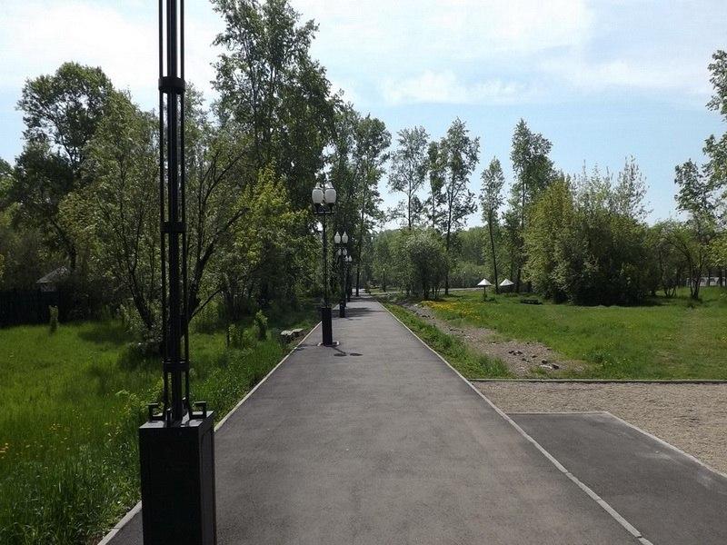 Парк наше время