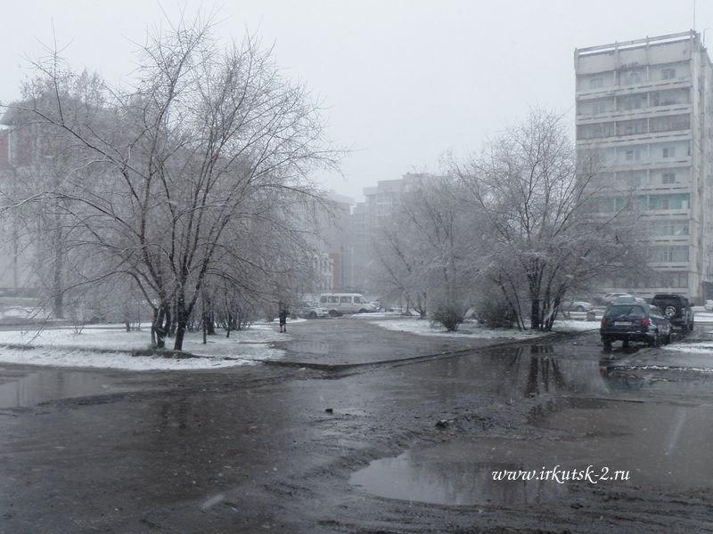Майский снег