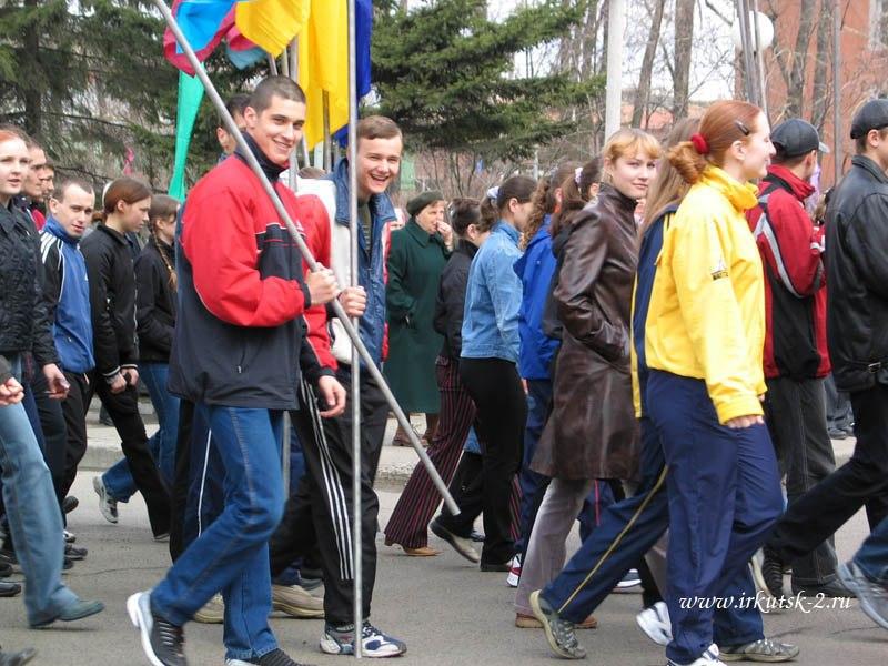 парад 9 мая 2004