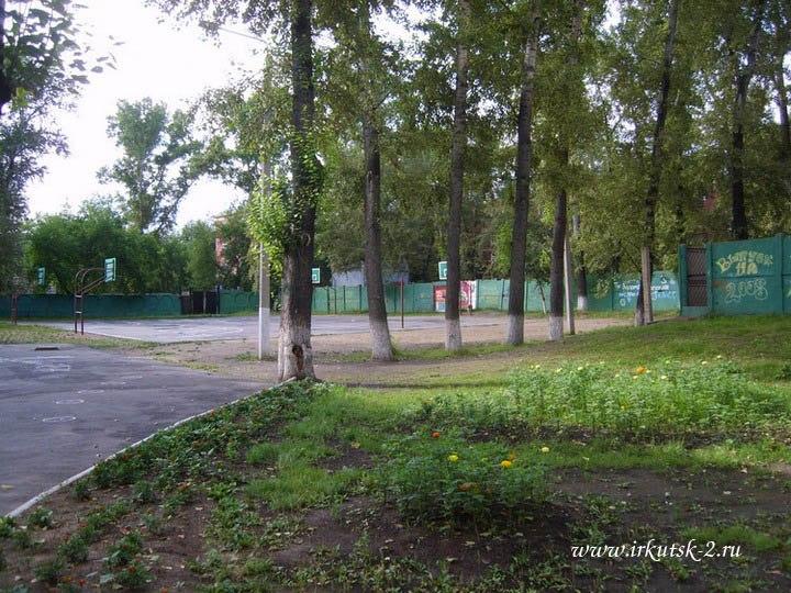 Двор школы №34