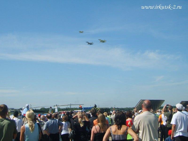 Показательный полёт. Як-130 и2 Су-30.