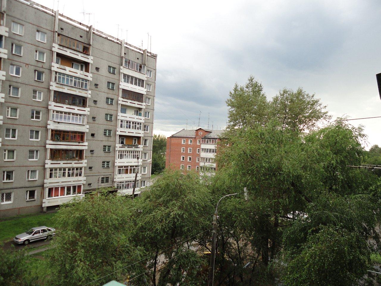 Вид из дома по ул.Сибирских партизан 11а