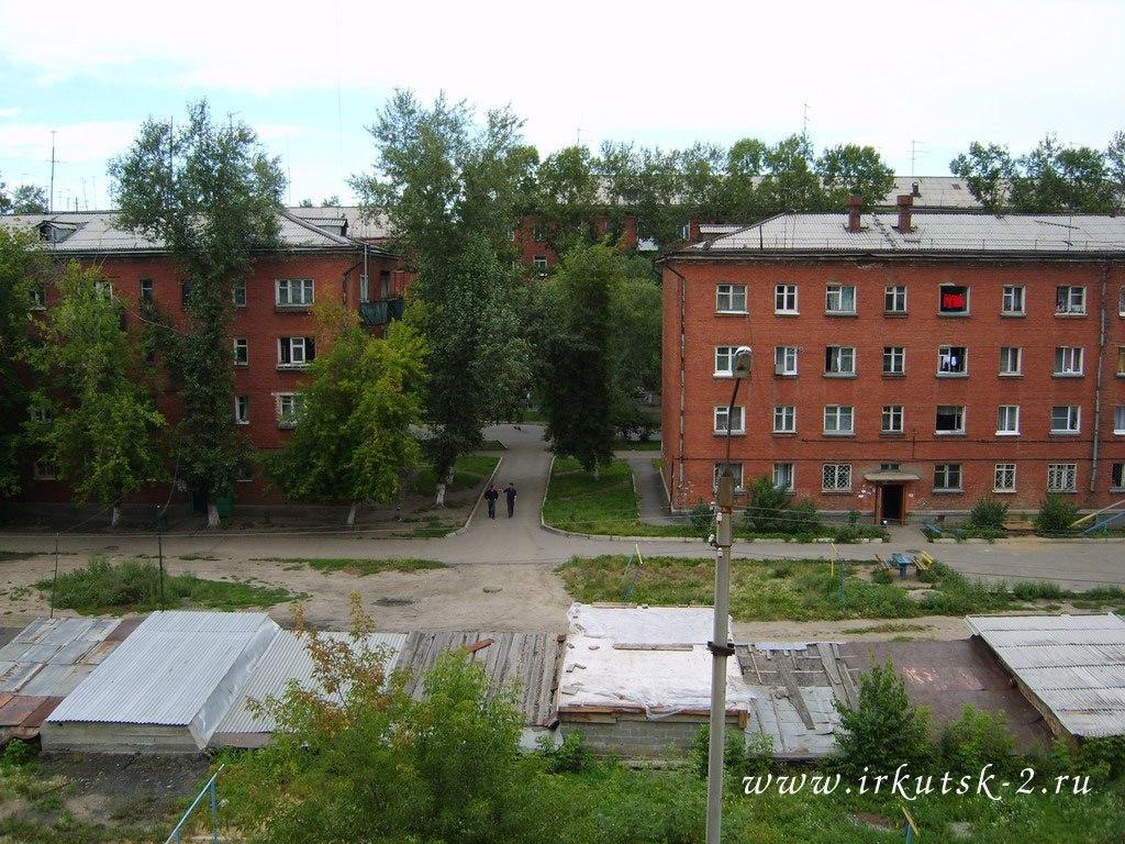 Двор между улицами Сиб. партизан иМира