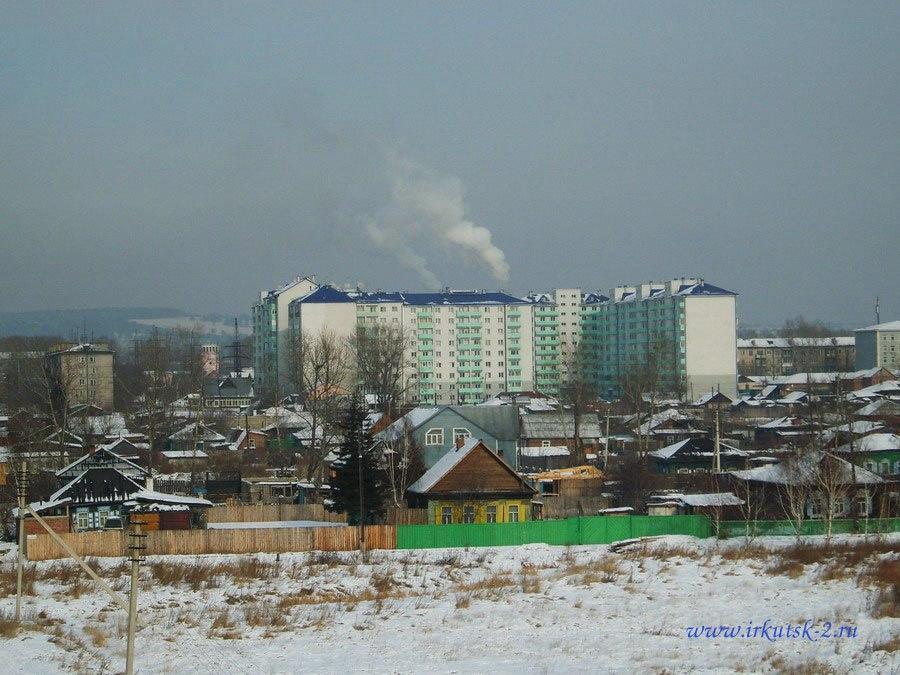 Вид на Второй Иркутск.