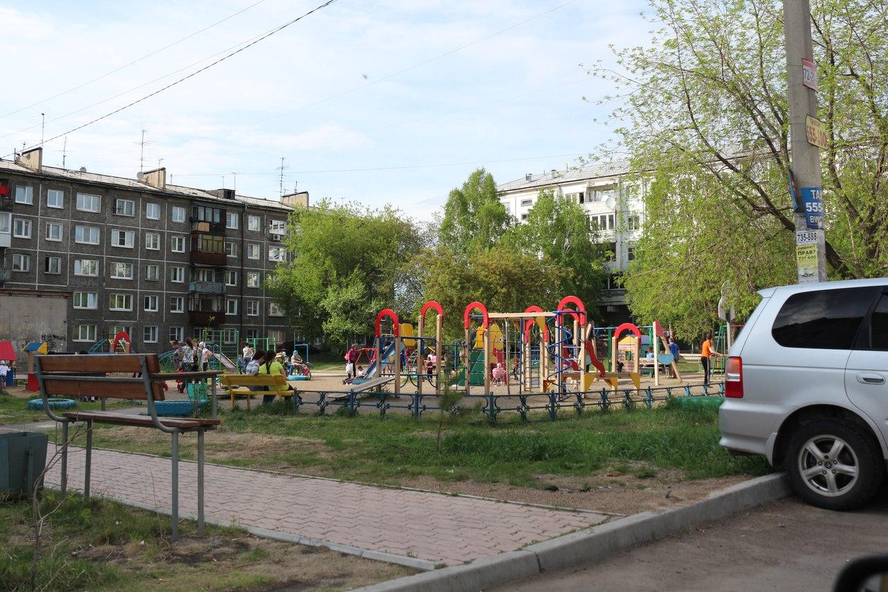 двор рядом с домом по ул.Волгоградская 45